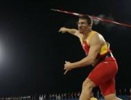 Héctor Cabrera apunta con su jabalina al podio en Río