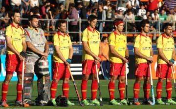Los 'Redsticks', selección masculina española de hockey hierba. Fuente: Rfeh