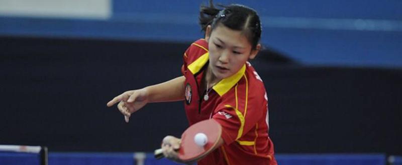 La joven jugadora María Xiao fue la que más lejos llegó en Polonia entre los españoles. Fuente; RFETM
