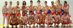 Selección española de waterpolo. Fuente: RFEN