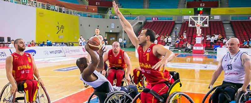 La selección española de baloncesto en silla de ruedas ya conoce a sus rivales en Río. Fuente: gbwa