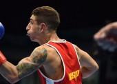 Samuel Carmona se acerca al ring olímpico de Río