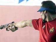 Jorge Llames, 5º en pistola velocidad 25 metros