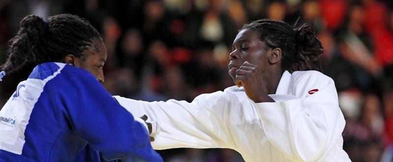 La judoca María Bernabeu. Fuente: IJF
