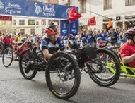 Gustavo Nieves, Elena Congost y Jordi Madera, vencedores de la Carrera Liberty
