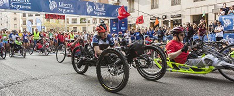 Salida de la Carrera Liberty con la participación de 11.000 corredores. Fuente: CPE