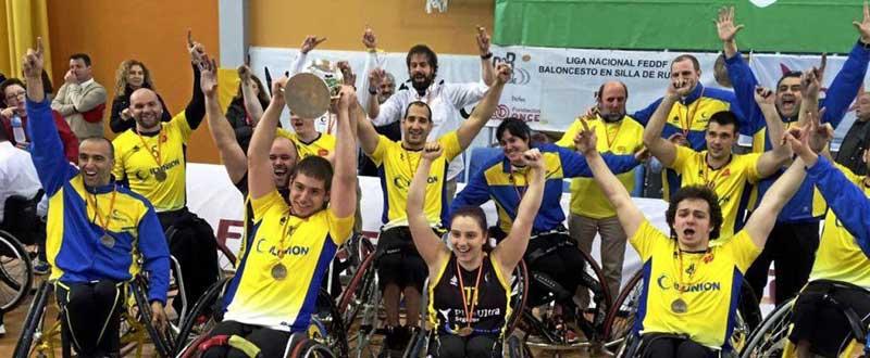 El CD Ilunion conquista su 16ª Copa del Rey de baloncesto en silla. Fuente: AD