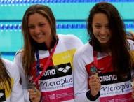 España se cuelga la plata en el 4x200 femenino y pone rumbo a Río