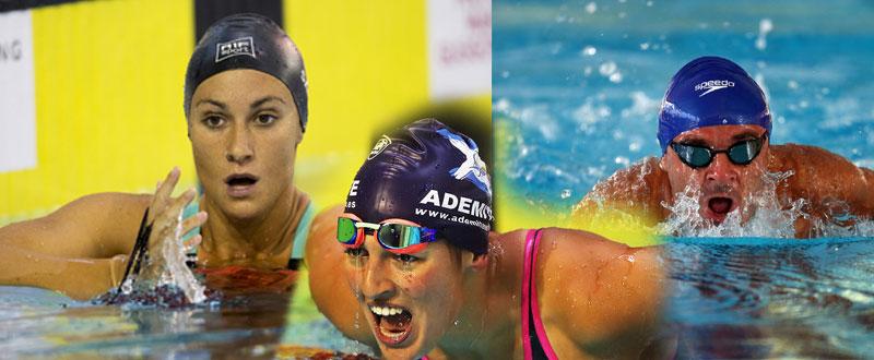Sarai Gascón, Michelle Alonso y Ricardo Ten han logrado el oro en la 4ª jornada del Europeo. Fuente: AD