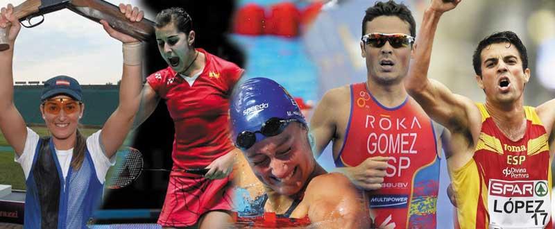 Olímpicos españoles a Río 2016. Fuente: AD