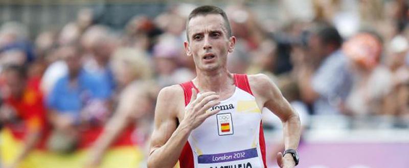 El maratoniano Carles Castillejo durante los Juegos Olímpicos de Londres. Fuente: RFEA