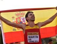 Álvaro Martín, bronce en 20 km en el mundial