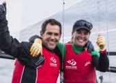 Echávarri y Pacheco, victoria en Hyères y billete para Río