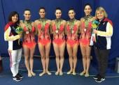 España consigue plata en la final de mixto y bronce en 5 cintas