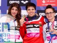 Mireia Belmonte y Judit Ignacio cierran el Europeo con bronce