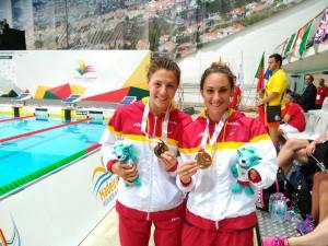 Nuria Marqués y Sarai Gascón.