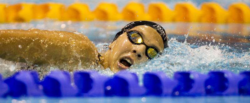 La nadadora española Nuria Marqués, ha logrado la medalla de oro en el Europeo. Fuente: CPE