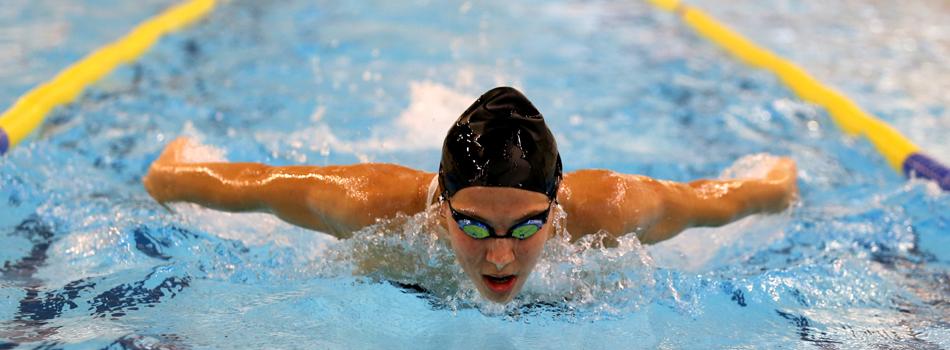 La nadadora en una prueba. Fuente: Svetlana Akimova