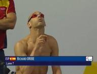 Richard Oribe se despide de la alta competición