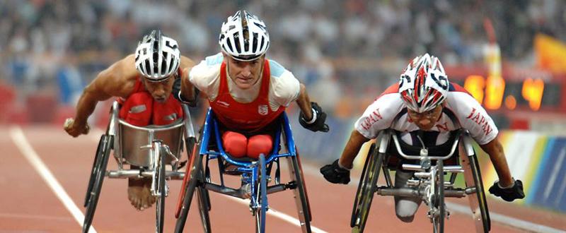 El atleta español, Santiago Sanz, en una competición. Fuente: Santiago Sanz