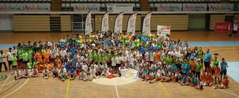 Clausura II Olimpiada Escolar Andaluza. Fuente: Manuel Amate/Avance Deportivo