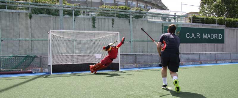 Selección española masculina de hockey hierba 'Redsticks'. Fuente: CSD