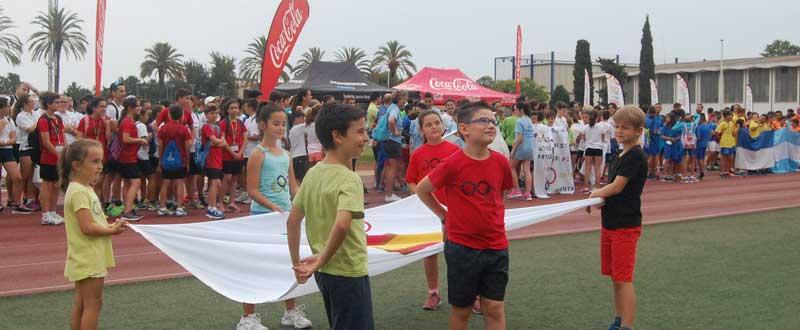 La vela ondea en Málaga e inaugura la II Olimpiada Escolar