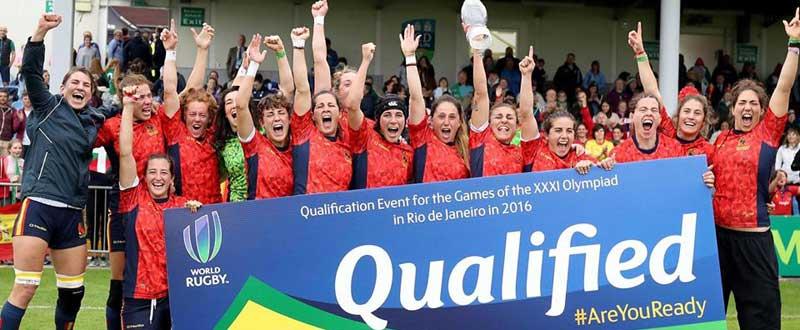 Selección femenina de rugby seven. Fuente: Ferugby
