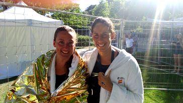 Mireia Belmonte y Erika Villaécija. Fuente: Rfen