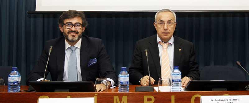 Javier González y Alejandro Blanco. Fuente: COE