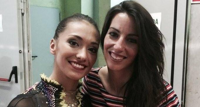 Naralia y Almudena Cid. Fuente: AR/Avance Deportivo