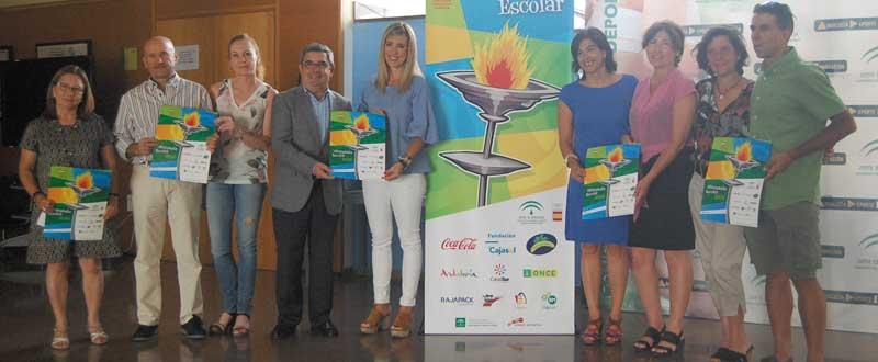 Nueva edición de la Olimpiada Escolar Andaluza 2016
