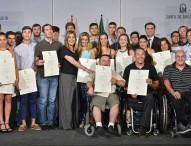 Entregan las ayudas del Plan Andalucía Olímpica 2016 a 58 deportistas y técnicos