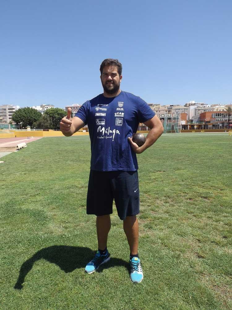 Borja Viva en Carranque. JR/Avance Deportivo