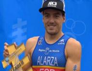 Fernando Alarza consigue el liderato mundial de triatlón