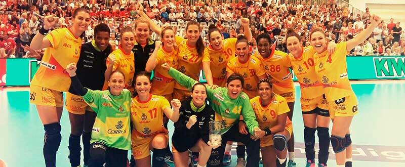 equipo español de balonmano femenino FUENTE: Ana MArtinez