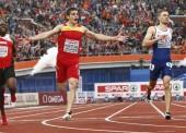Bruno Hortelano y Óscar Husillos, a las finales de 200 y 400 metros