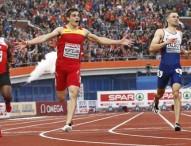 Bruno Hortelano pasa a 'semis' pulverizando el récord de España