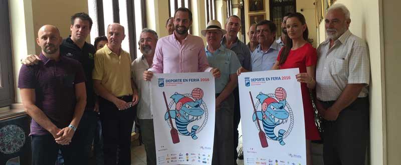 Presentación del cartel ''Deporte en feria''. JR/Avance Deportivo