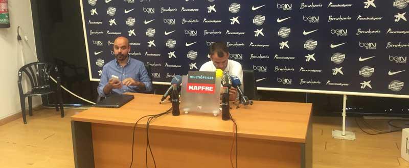 Duda en la conferencia de prensa. JR/ Avance Deportivo
