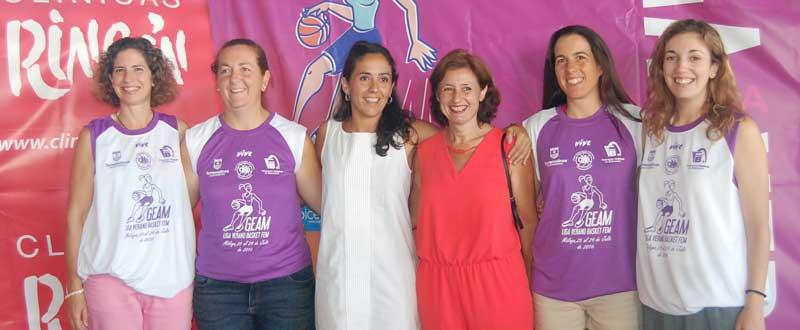 Presentación de la liga de baloncesto femenina de verano. LP/Avance Deportivo