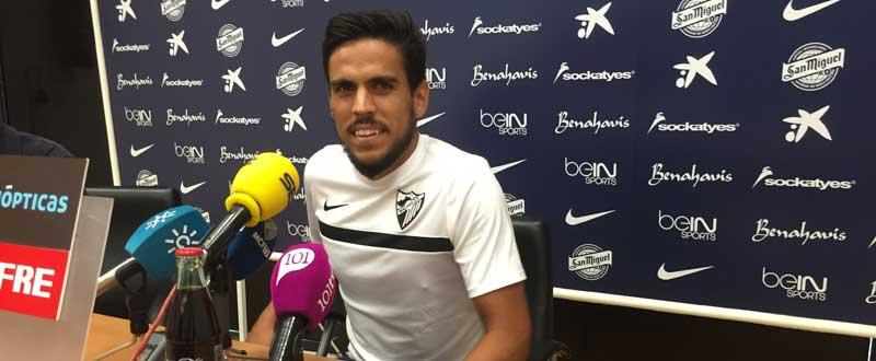 Recio en rueda de prensa. JR/Avance Deportivo