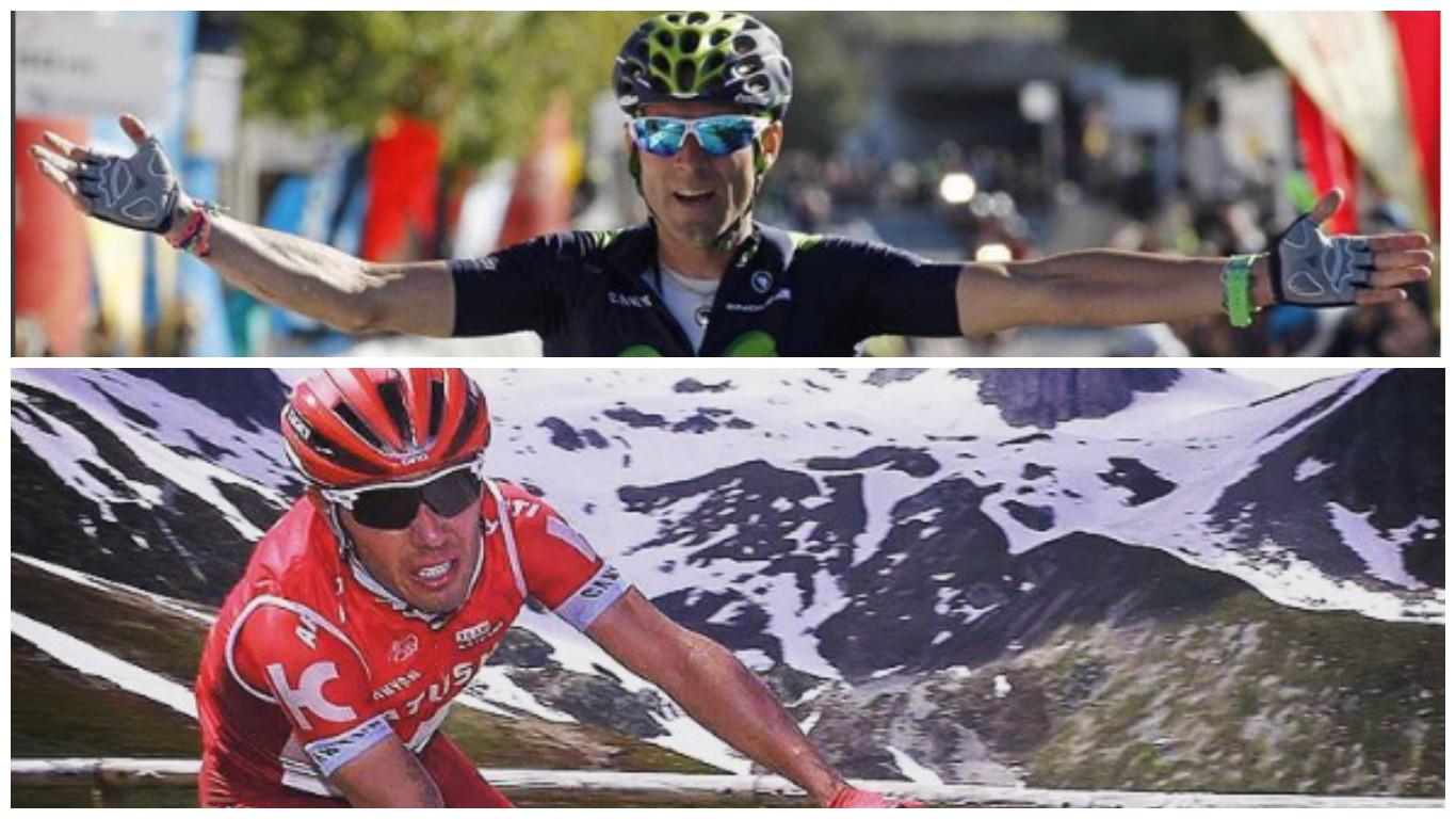 """Alejandro Valverde y Joaquín Rodríguez """"Purito"""". Fuente: instagram"""