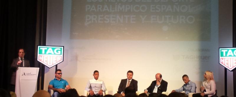 Debate sobre los retos del deporte paralímpico español: presente y futuro. Fuente: Javier García.