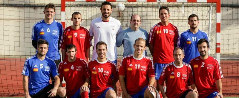 Selección Española de Fútbol 5. Fuente: Comité Paralímpico Español.