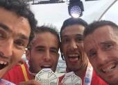 España acaricia el oro en el medio maratón masculina por equipos