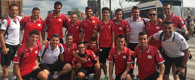 Selección de Fútbol 7. FUENTE: J.A.S