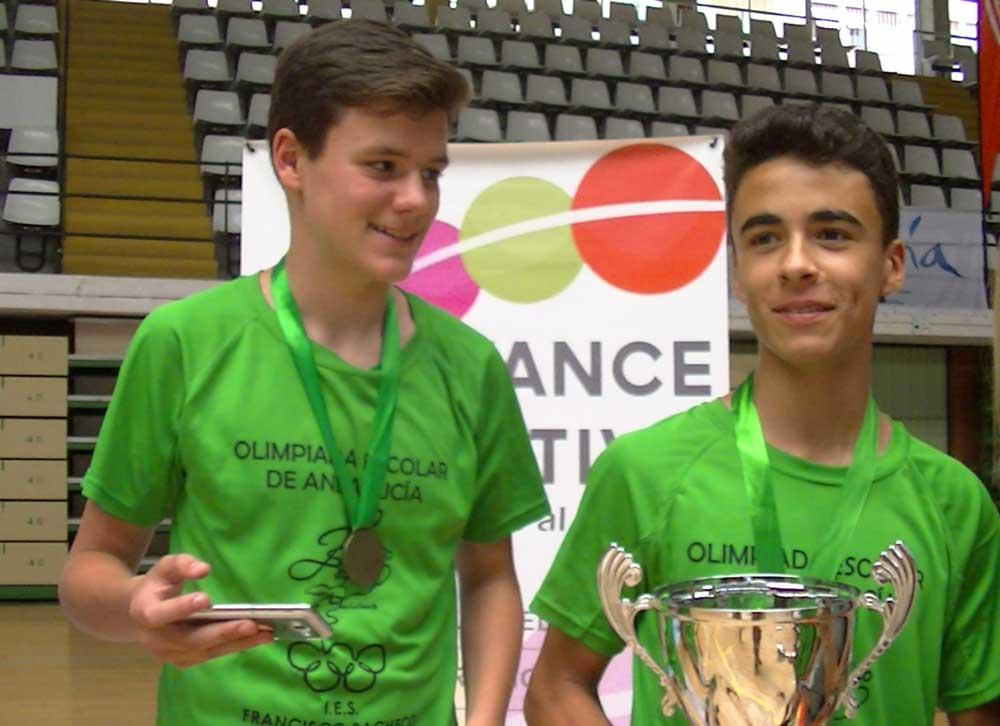 Rafael Galán (a la derecha). Fuente: FM/Avance Deportivo