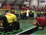 Finaliza el primer europeo de Powerchair Hockey para España