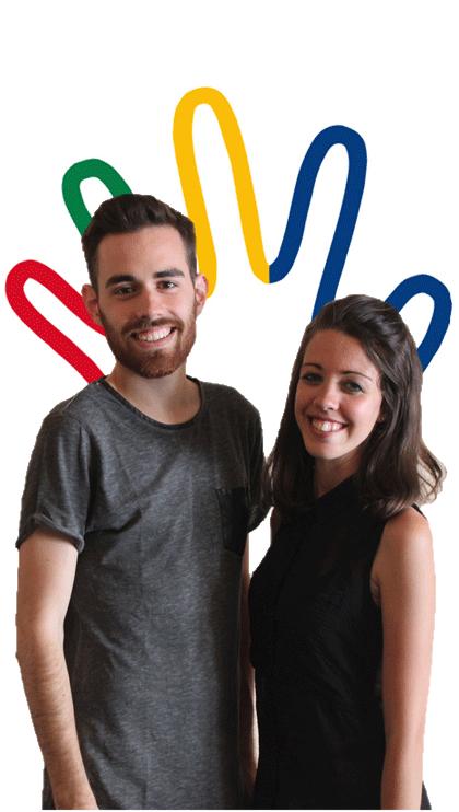 Alejandro Caparrós y Marta Domínguez. Fuente: AD